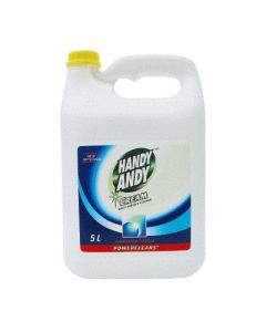 Abyx Chemical - CL0012 - Ammoniated Cleaner Handy Andy White 5l