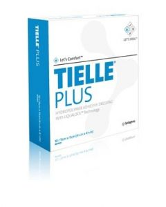 Acelity - MTP502 - MTP505 - TIELLE PLUS Hydropolymer Adhesive Foam Dressing 15 X