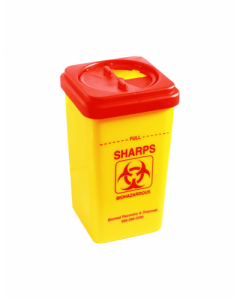 Aids Medical Waste - CONT00002 - Sharp Container 10 Litre