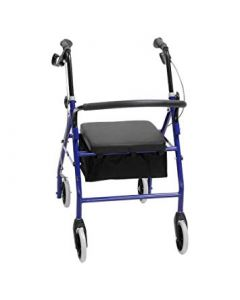 Ce Mobility - ROLA0002 - Rolator With Hand Brakes 4 Wheels