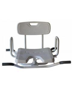 Medfurn - BATH0002 - Bath Chair Swivel With Locks