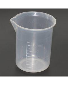 SHC - MEDITUM001 - Medicine Measures Clear Plastic 50ml