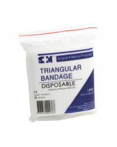 SHC - TRIANG002 - Triangular Bandage Hemmed Premium 90x90x130