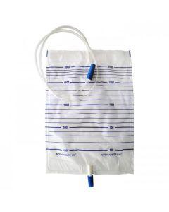 SHC - URINE1020A - Urine Bag 2000ml Push Type Double Ended
